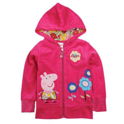 37cf70897 Baby Girls Coat Children Outwear Kids Winter Warm Wear Hoodie ...