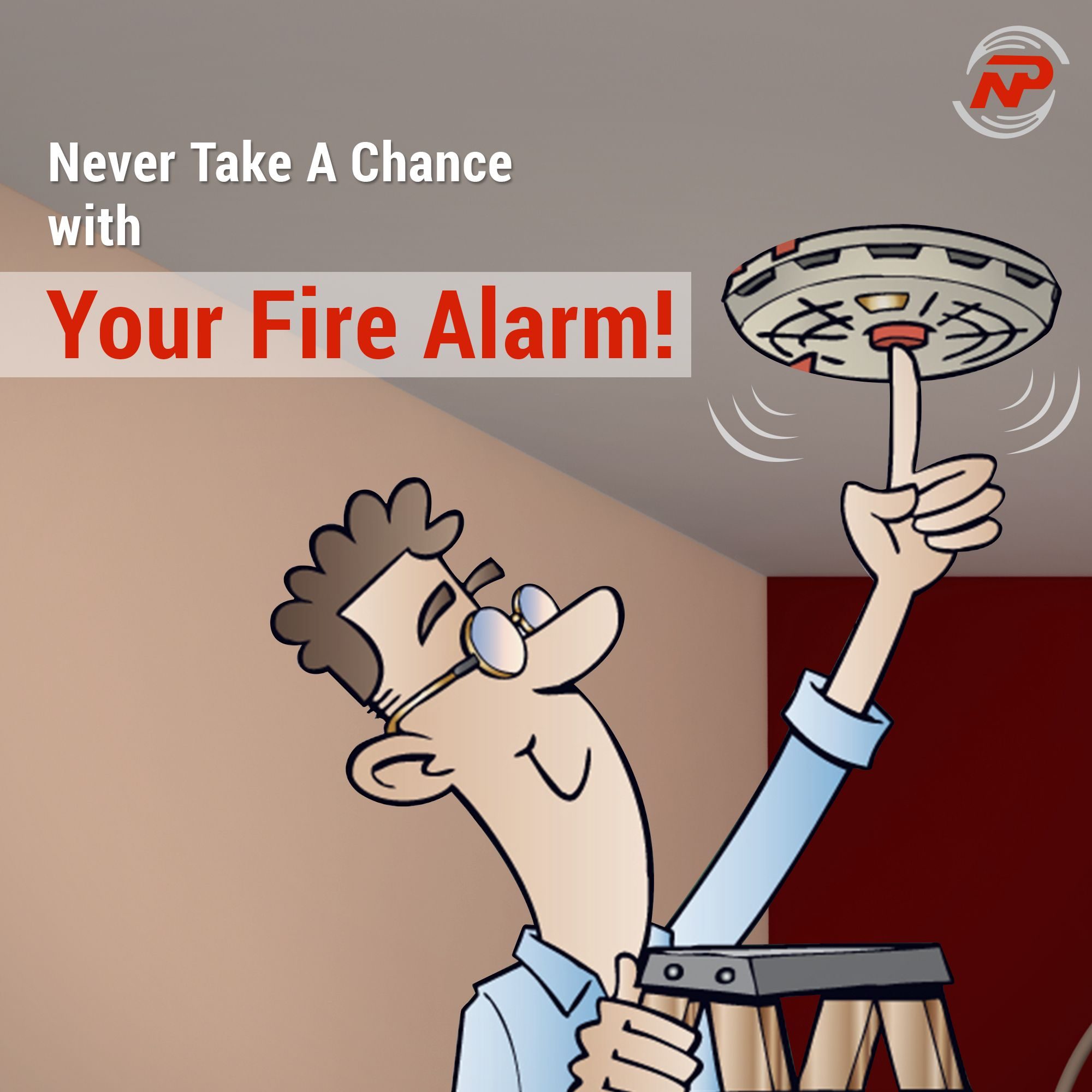 Firealarms Are Rarely Used Thankfully But The Alarm System Must Be At The Ready At All Times That Means Regular Fire Alarm Fire Alarm System Alarm System