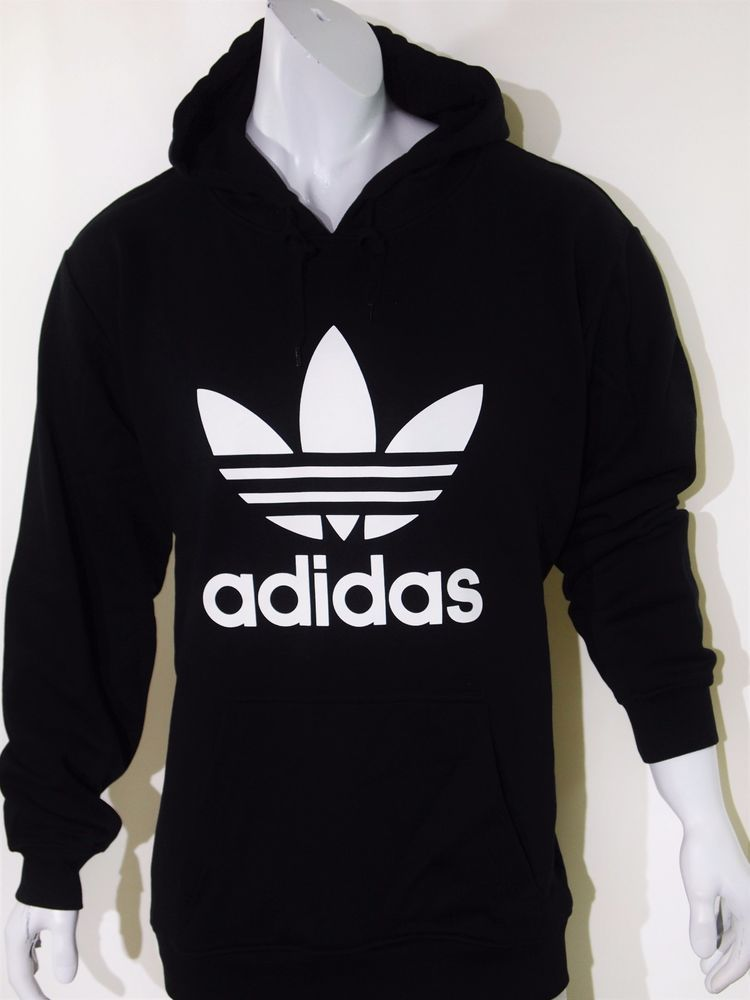 4e5d391c Adidas classic men's pull over fleece hoodie size xxl NEW on SALE ...