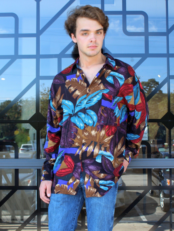 Vintage Pierre Cardin Shirt Button Down Pierre Cardin Large Hipster Shirt Men Shirt With Collar Vintage Mens Fashion Best Mens Fashion Hipster Shirts Men