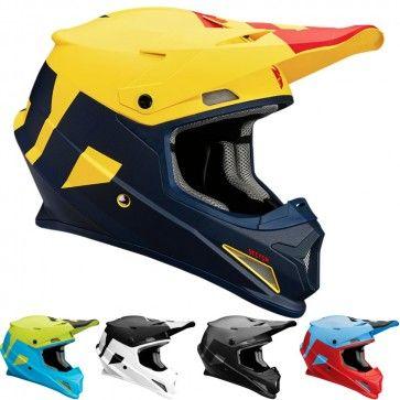 Dp Thor Sector Level Mens Motocross Helmets Motocross Helmets