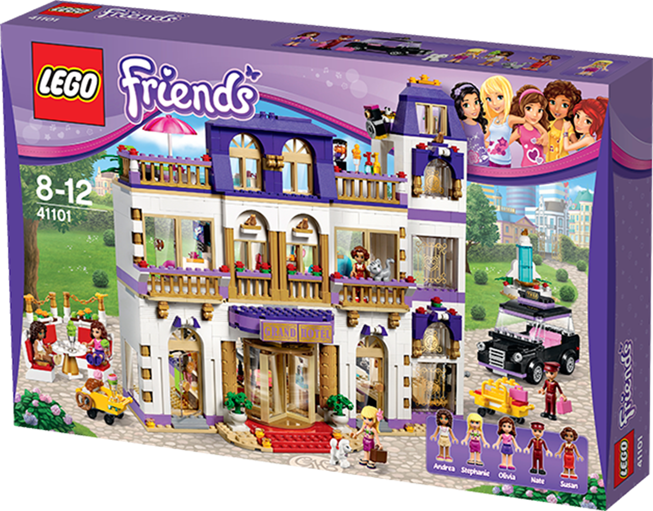 Lego Friends 41101 Heartlake Grand Hotel Legetøj Fra Br Lego Friends Lego Lego Friends Sets