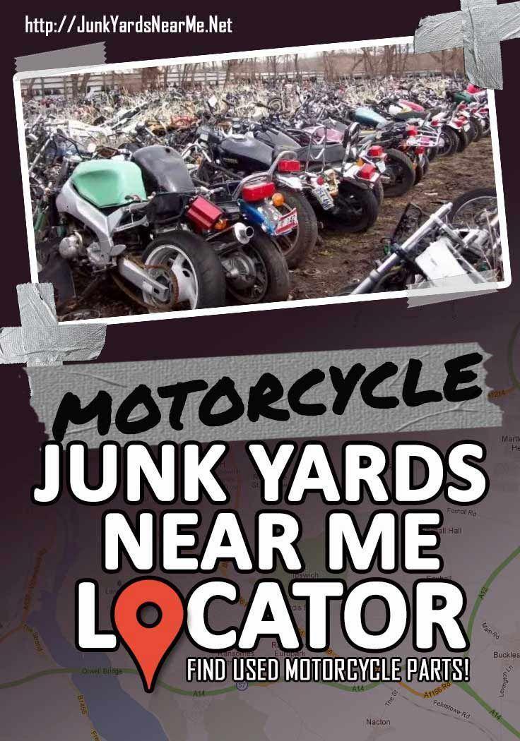 Motorcycle Salavge Yards Near Me [Locator Map + Guide