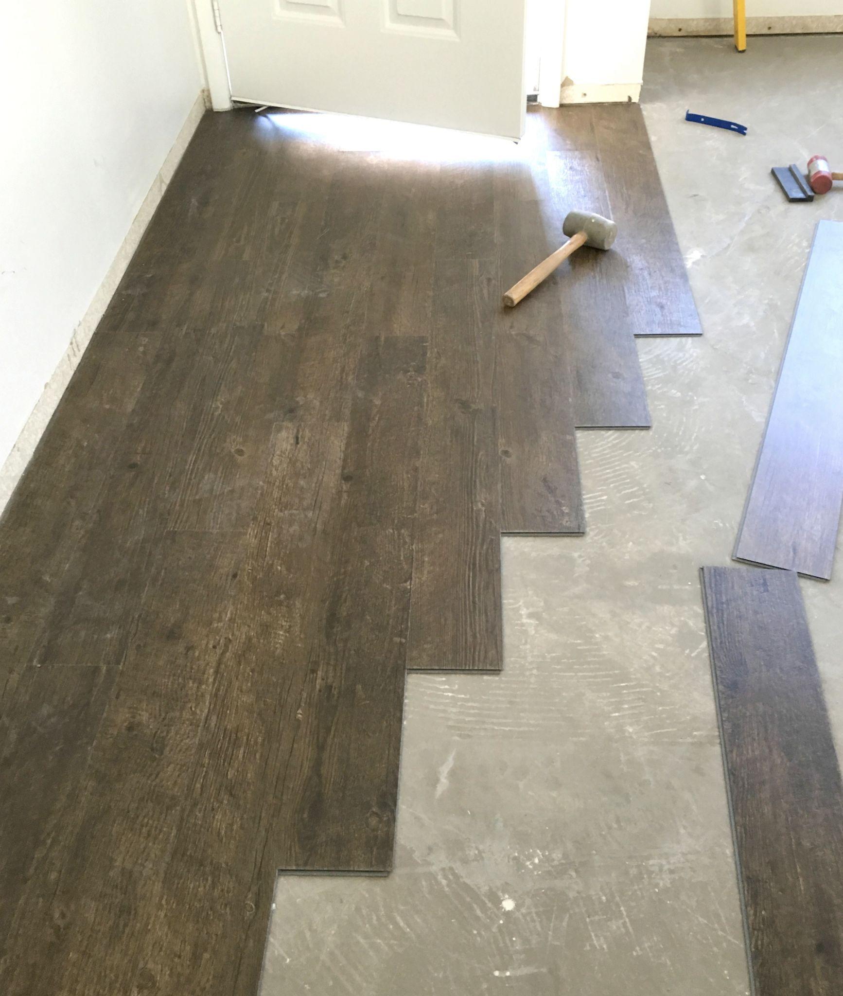 Vinyl Plank Flooring Prep & Installation Waterproof
