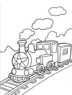 Top 26 Free Printable Train Coloring Pages Online Disappointment