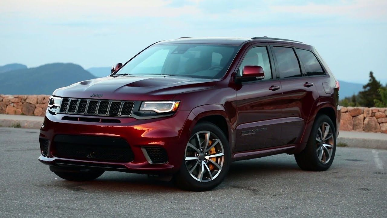2019 Jeep Grand Cherokee Trackhawk Jeep Grand Cherokee Jeep Jeep Cars
