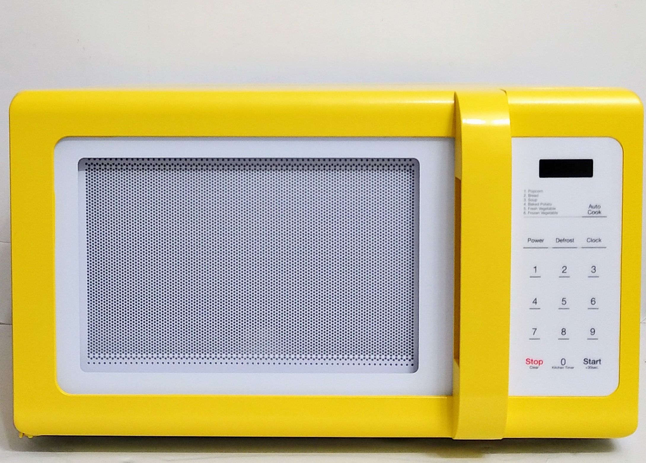 Majestic Yellow Magic Chef Microwave Majestic Yellow 900 Watt