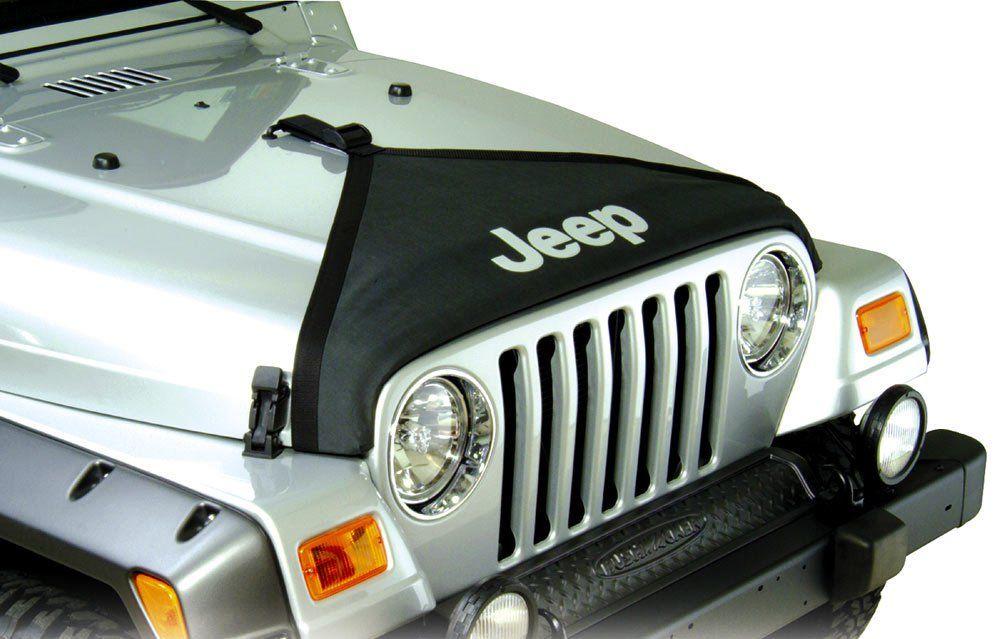 Mopar 82208110 Hood Bra For 97 06 Jeep Wrangler Tj Unlimited Jeep Wrangler Tj Jeep Wrangler Jeep