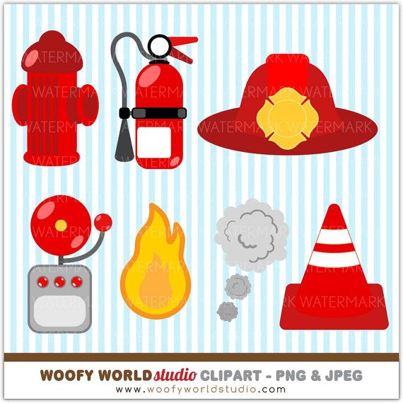 Fire Truck Kid Clipart INSTANT DOWNLOAD by WoofyWorldStudio, $5.00 ...