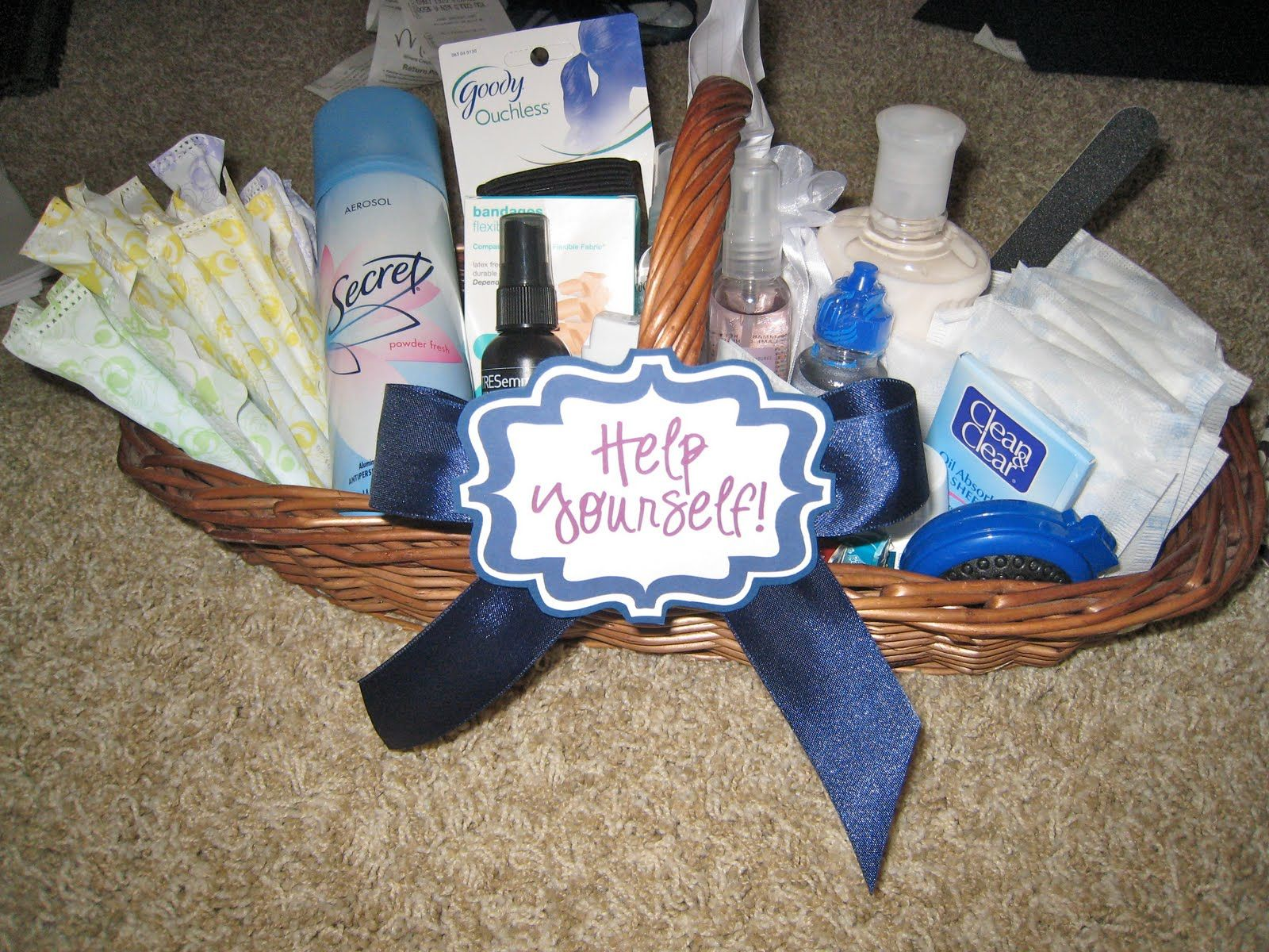 Look What I Made Bathroom Basket Edition Bathroom Basket