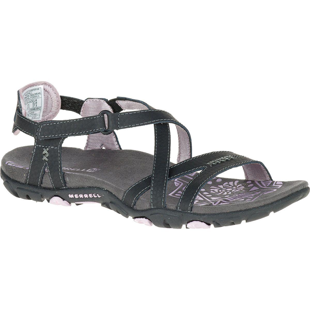 den bedste holdning Kuponkode på fødderne kl MERRELL Women's Sandspur Rose Leather Sandals - Shop Now for ...