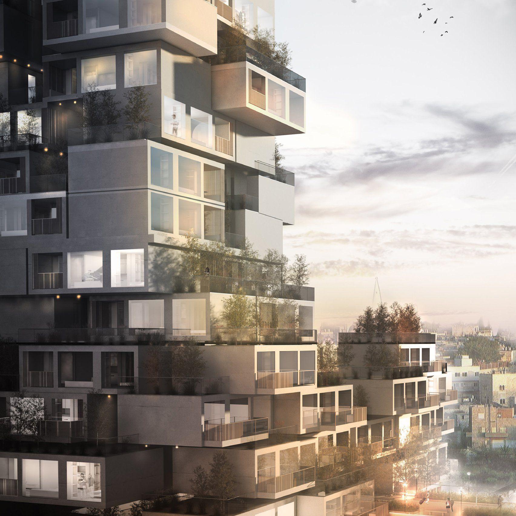 Tremendous Dezeens Top 10 Conceptual Skyscrapers Of 2017 Cool Download Free Architecture Designs Xaembritishbridgeorg