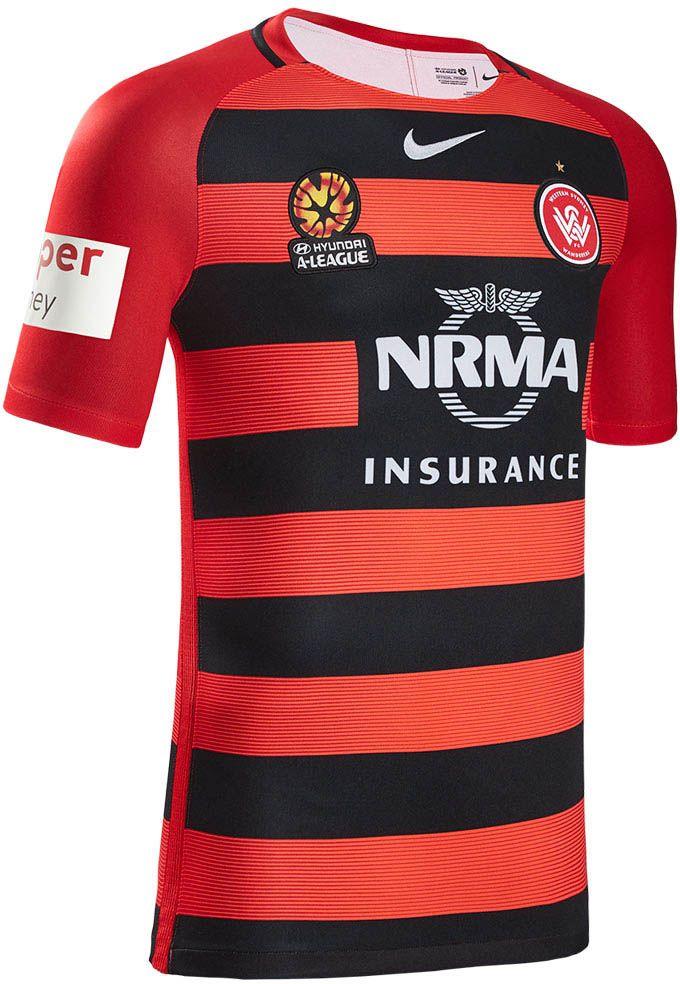 7002e757 The Western Sydney Wanderers 16-17 jerseys introduce modern designs ...