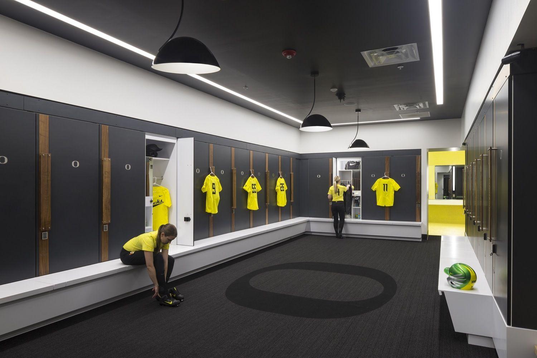 Pin D Oregon Couleur gallery of university of oregon jane sanders stadium / srg