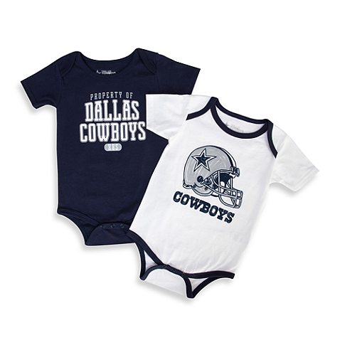 Dallas Cowboys NFL Unisex Infant Practice Logo Onesie