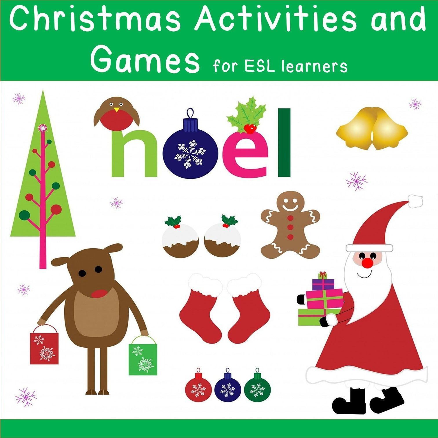 Get This Bundle With Lots Of Activities For Kids And Teens Christmas Activities Kids Christmas Poems Christmas Language Arts