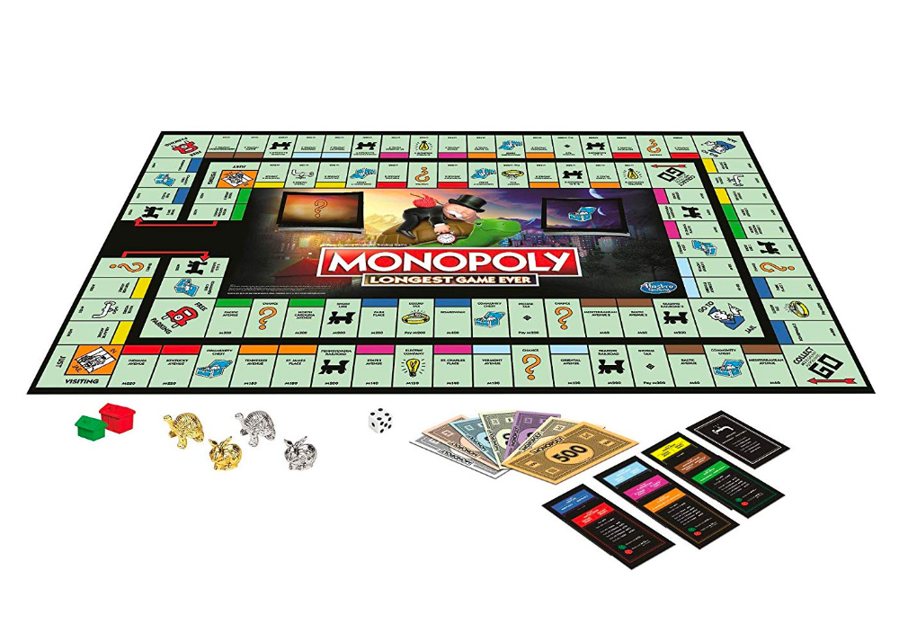 Host A Holiday Monopoly Marathon With The Longest Game Ever Monopoly Games Make Your Own Monopoly