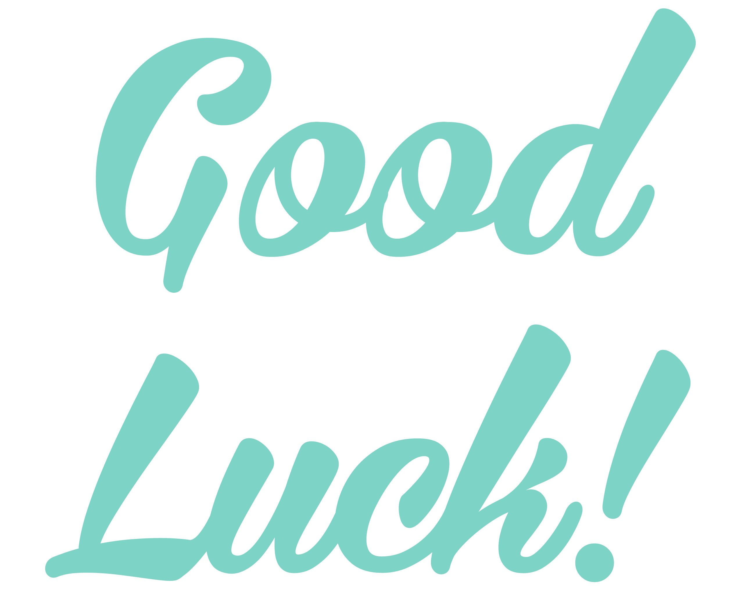Good Luck Png Transparent Images All Luck Good Luck Image