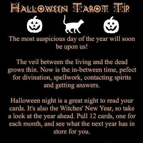 Halloween Tarot Tips