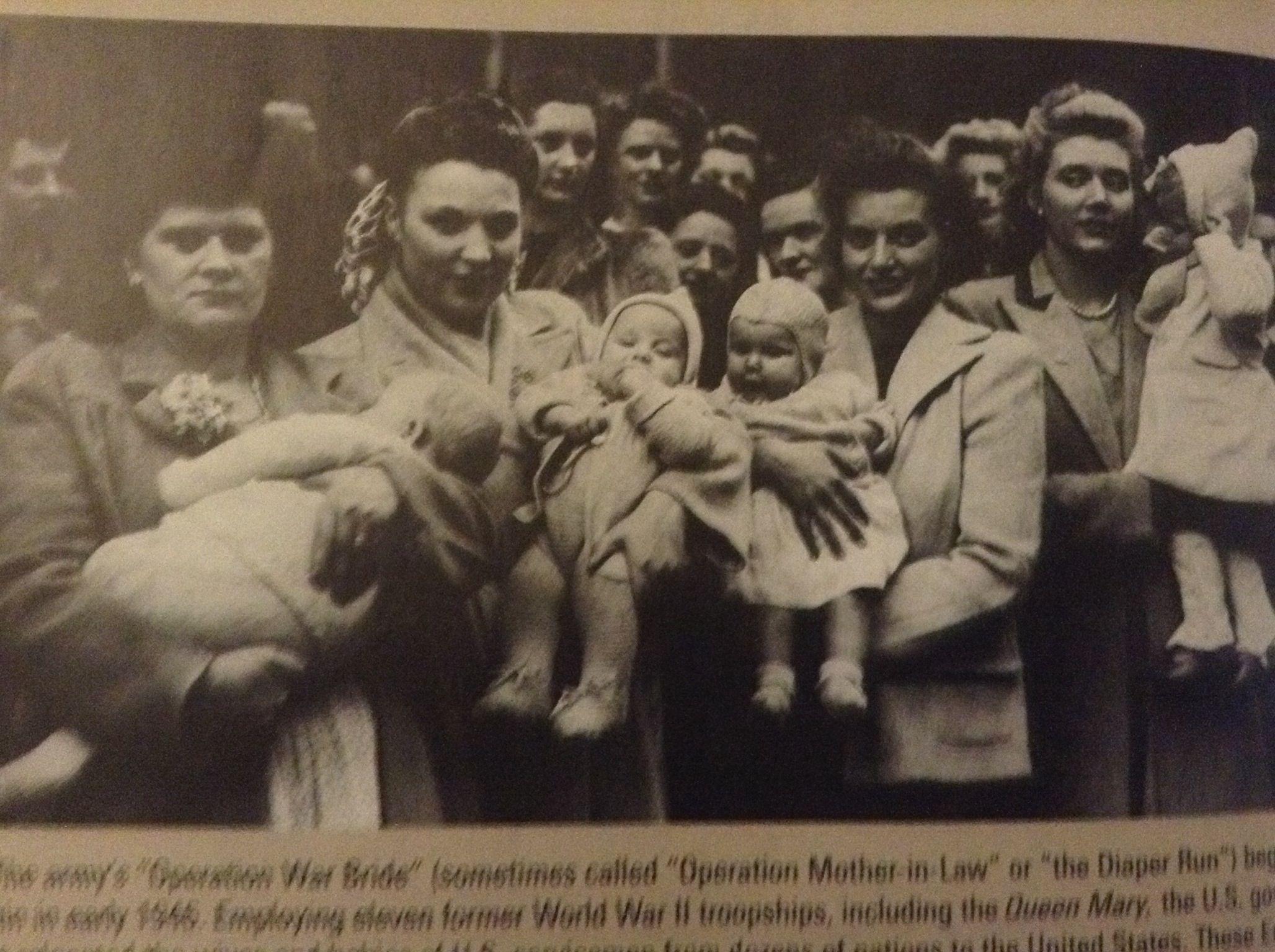 """""""Operation War Brides"""" WWII"""