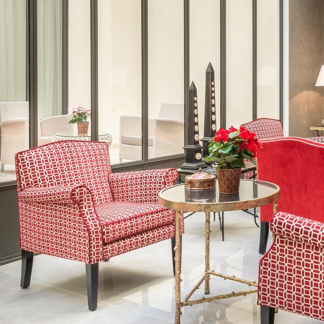 Red Inspiration #MisEnDemeure #hotel #project #paris #decoration ...