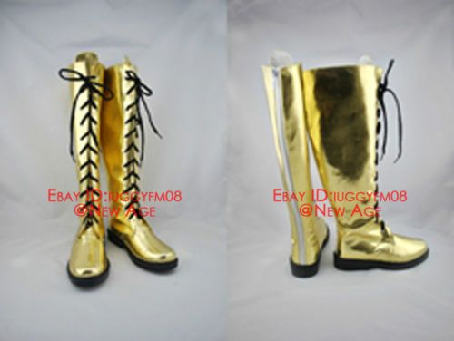 Vocaloid Megurine Luka Cosplay Shoes Boots Figure Ver B333 | eBay