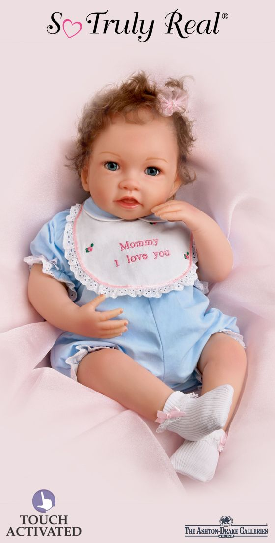 Quot Katie Kisses Quot Touch Activated Interactive Doll So Truly