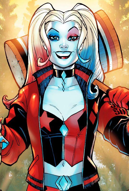 Pin Na Doske Harley Quinn