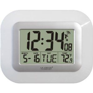 Skyscan Atomic Clock With Temperature Sensor 38 70 Best Wall Clocks Clock Atomic Wall Clock