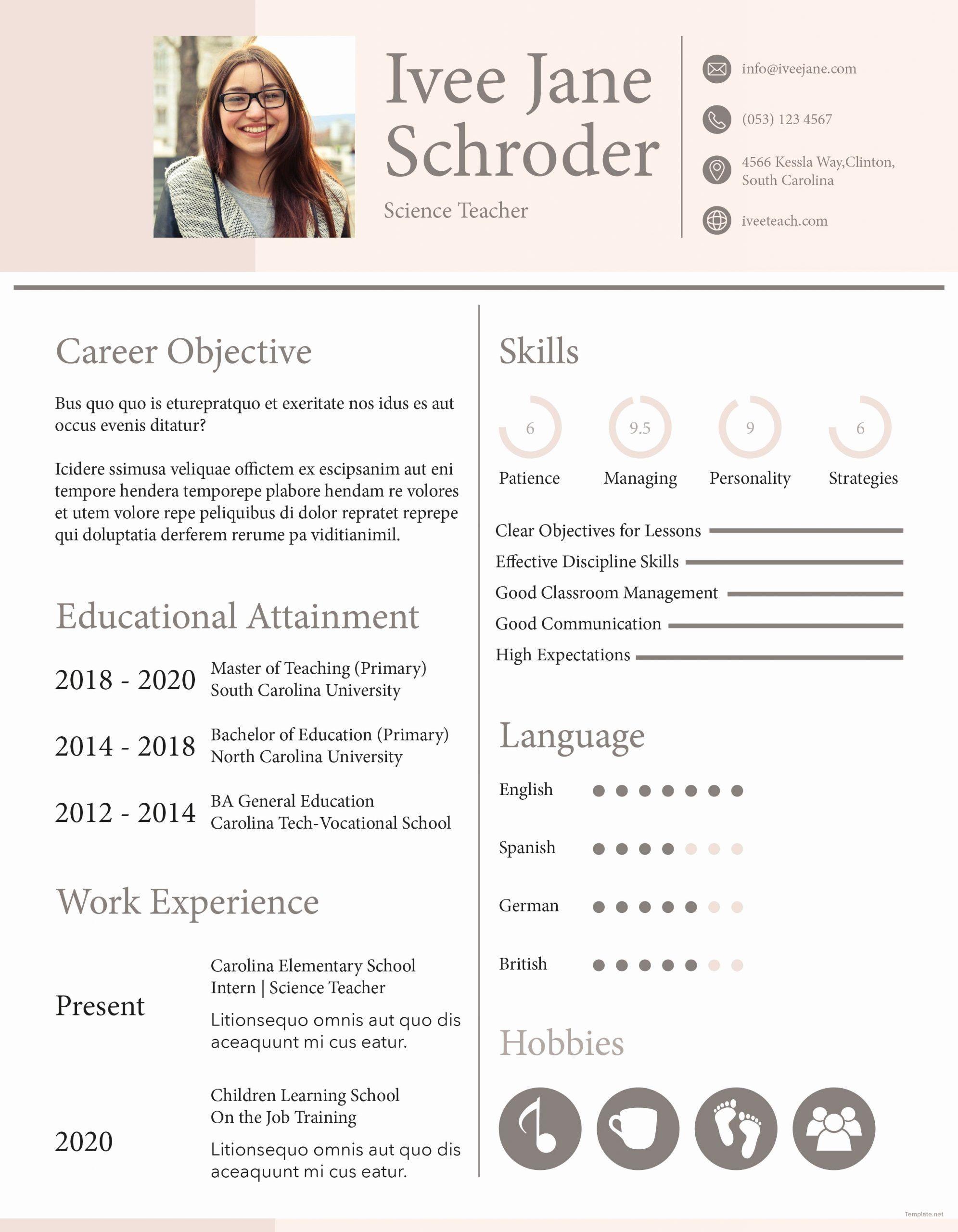 Teacher Resume Examples 2020 Luxury Teaching Resume Examples 2020 Romes Danapardaz Teacher Resume Teacher Resume Examples Teacher Resume Template