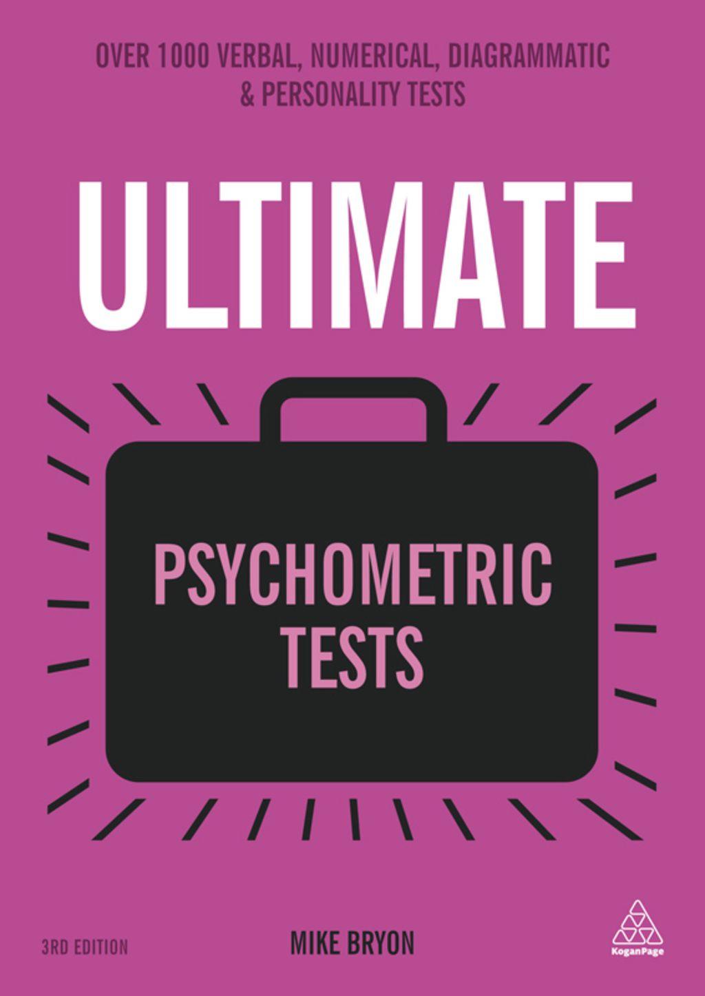 Ultimate Psychometric Tests  Ebook  In 2019