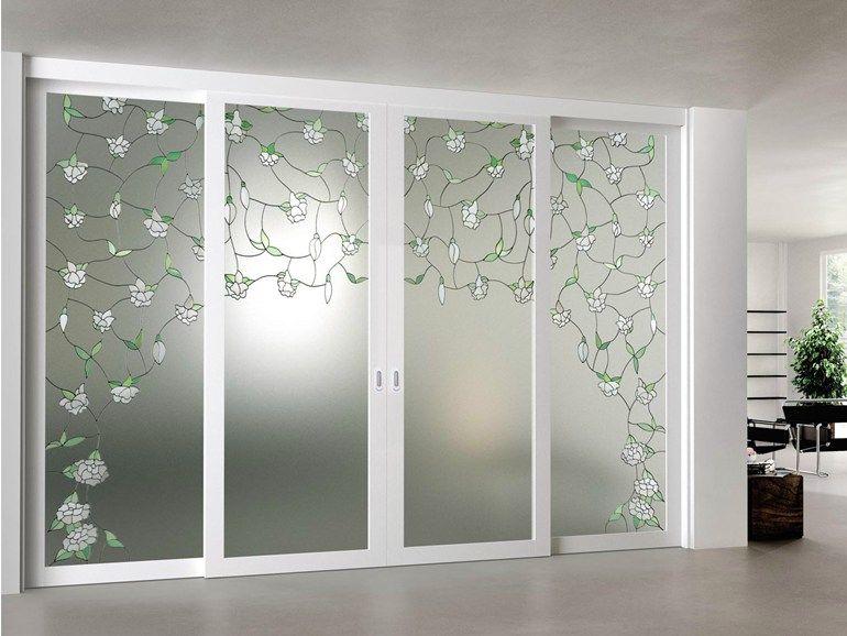 Puerta corrediza de vidrio arianna colecci n elegance by - Puertas corredizas de vidrio ...