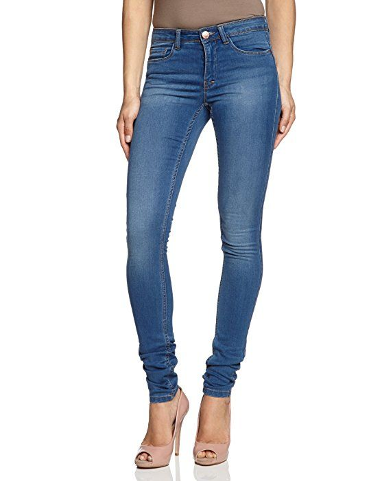 ONLY Damen Jeans 15077789/REG SOFT ULTIMATE PIM203 NOOS Skinny, Slim Fit  (Röhre