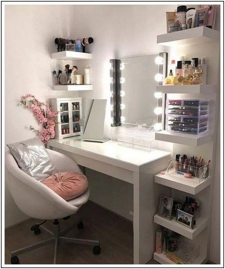 37 Simple Makeup Room Ideas Organizer For Proper Storage 1 Page 19 Pointsave Net Sovrumsideer Inredning Tonarsrum Sovrum Design