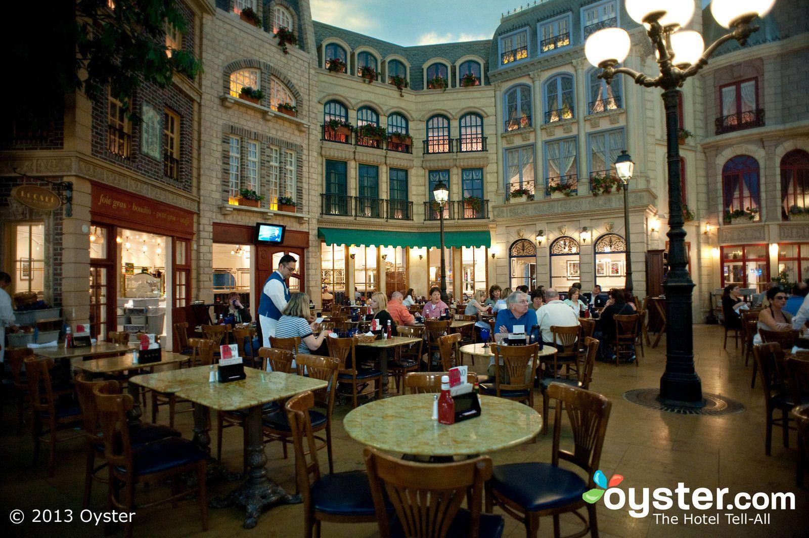 Cafe Ile St Louis At Paris Las Vegas