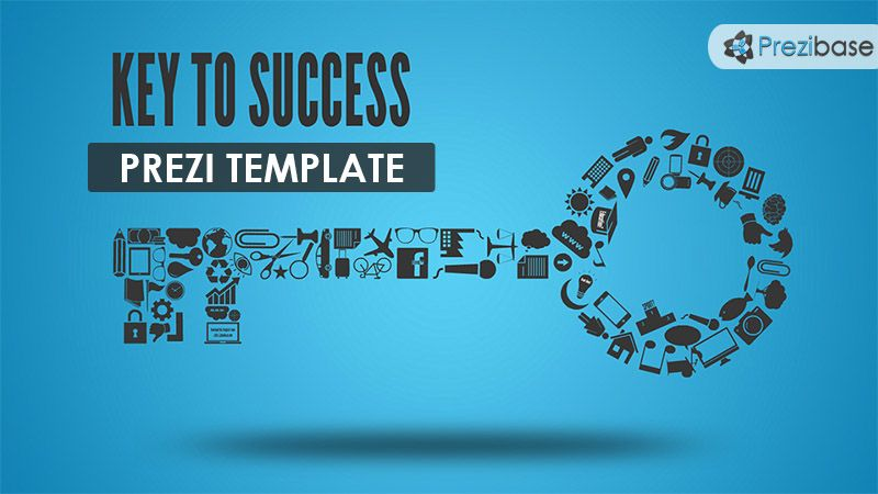 Key To Success Prezi Template  Prezi