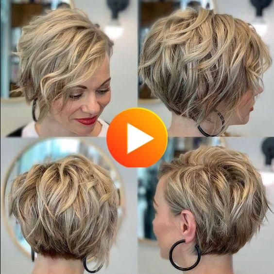Short Wavy Hair Hairstyle Pictures Pixiebob Shorthairstylesforwomen In 2020 Hair Styles Haircut For Thick Hair Short Hair Styles