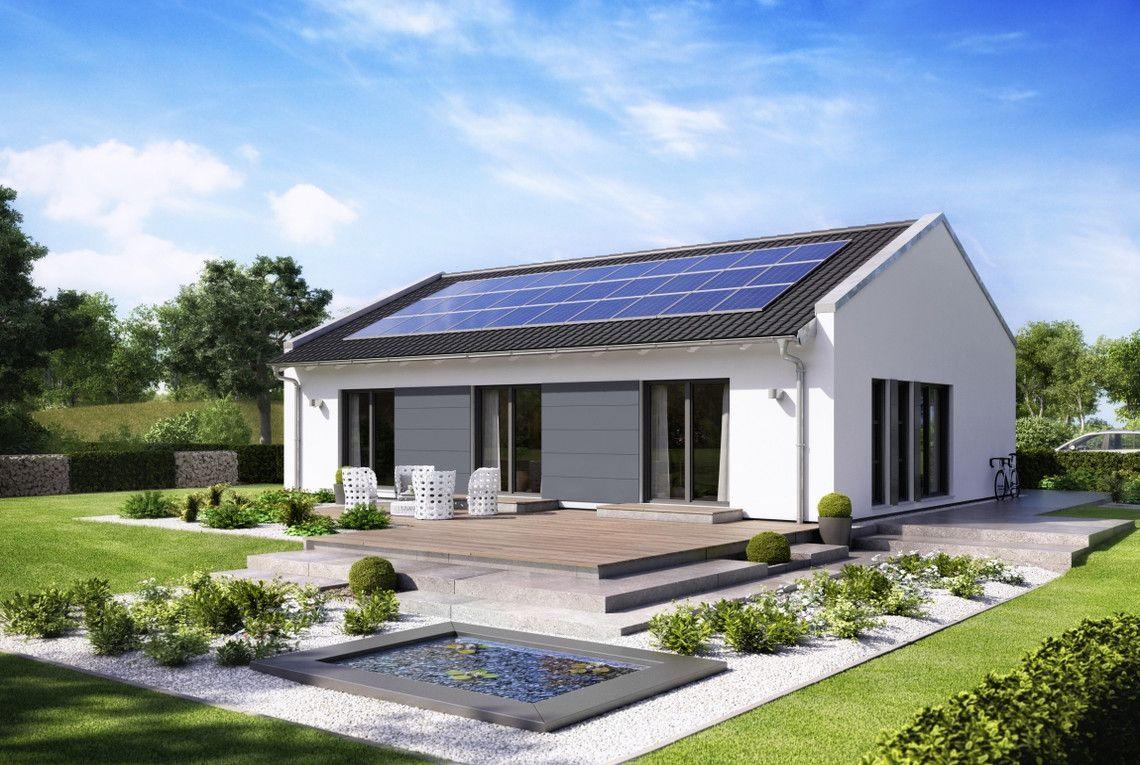 Fassadengestaltung bungalow grau  Bungalow Nizza L - RENSCH-HAUS GMBH | wohnung | Pinterest | Nizza ...