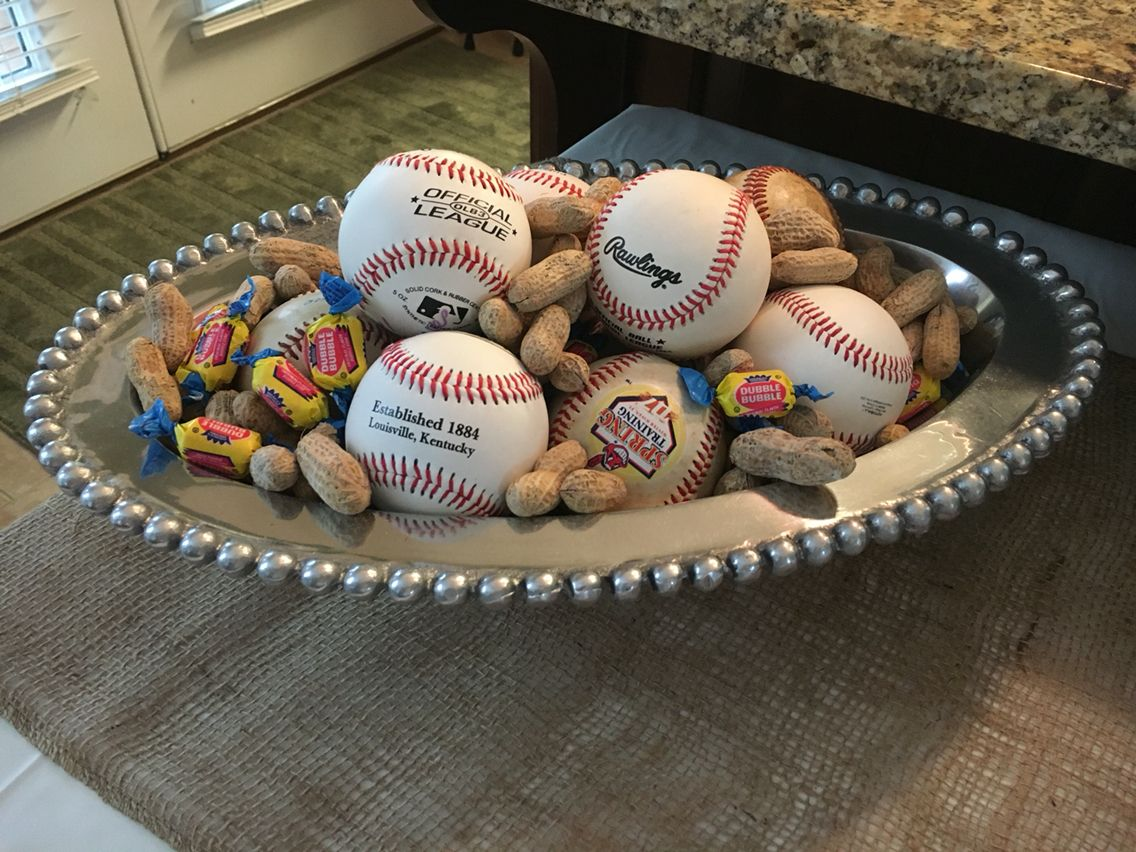 Decorations For Baseball Themed Gender Reveal Baby Gender Reveal Party