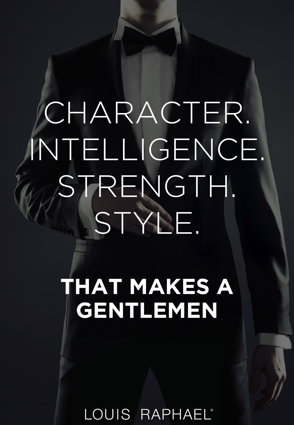 Are you a gentleman? MensStyle Quote