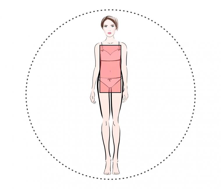 Похудеть при фигуре прямоугольник