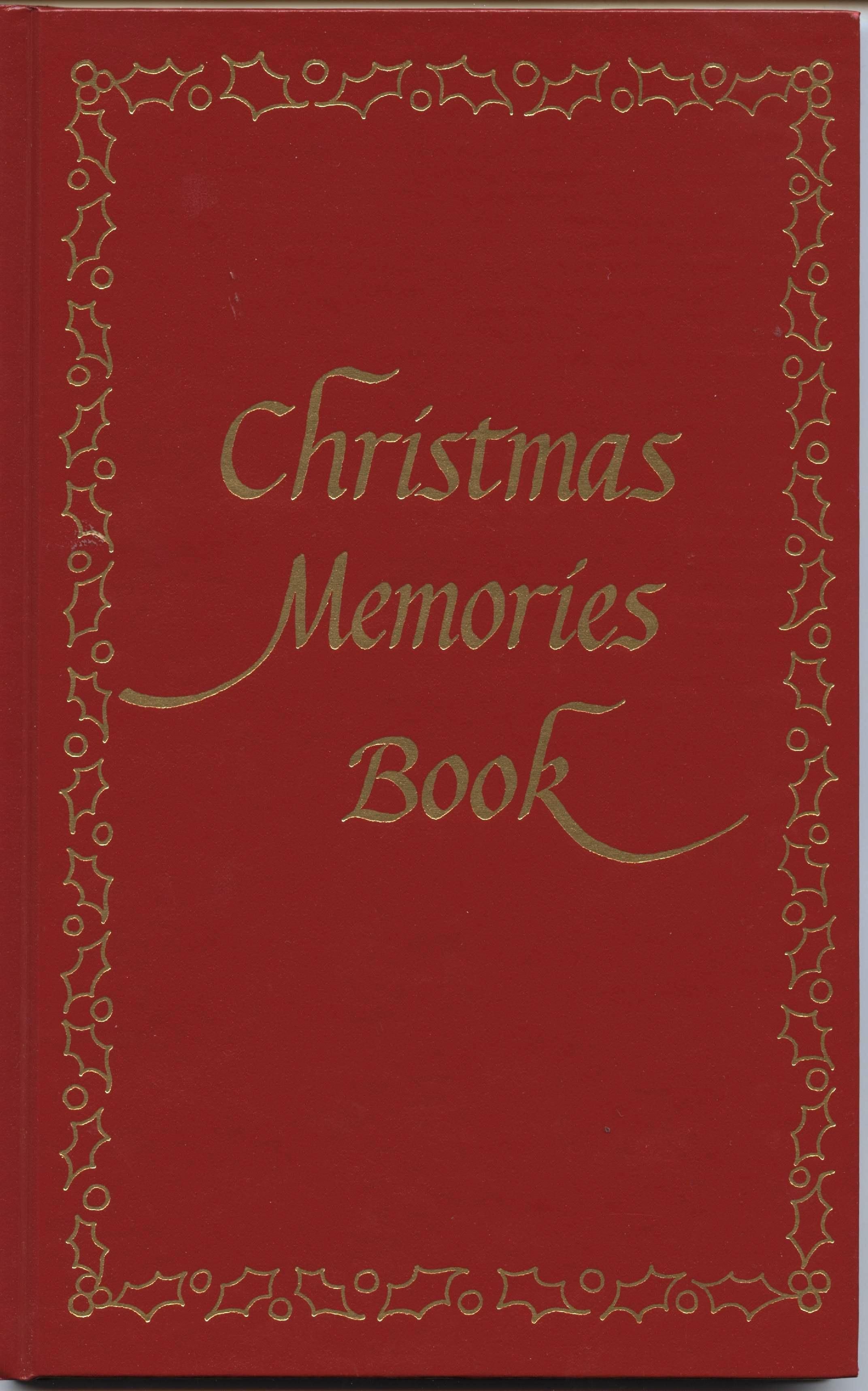 christmas memories the perfect gift for a new family fill in the pages - Christmas Memories Book