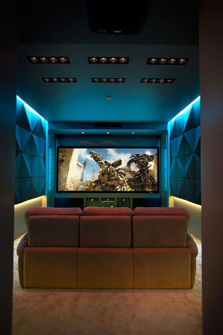 Cool Basement Home Theater Designs #basementhometheaterbar