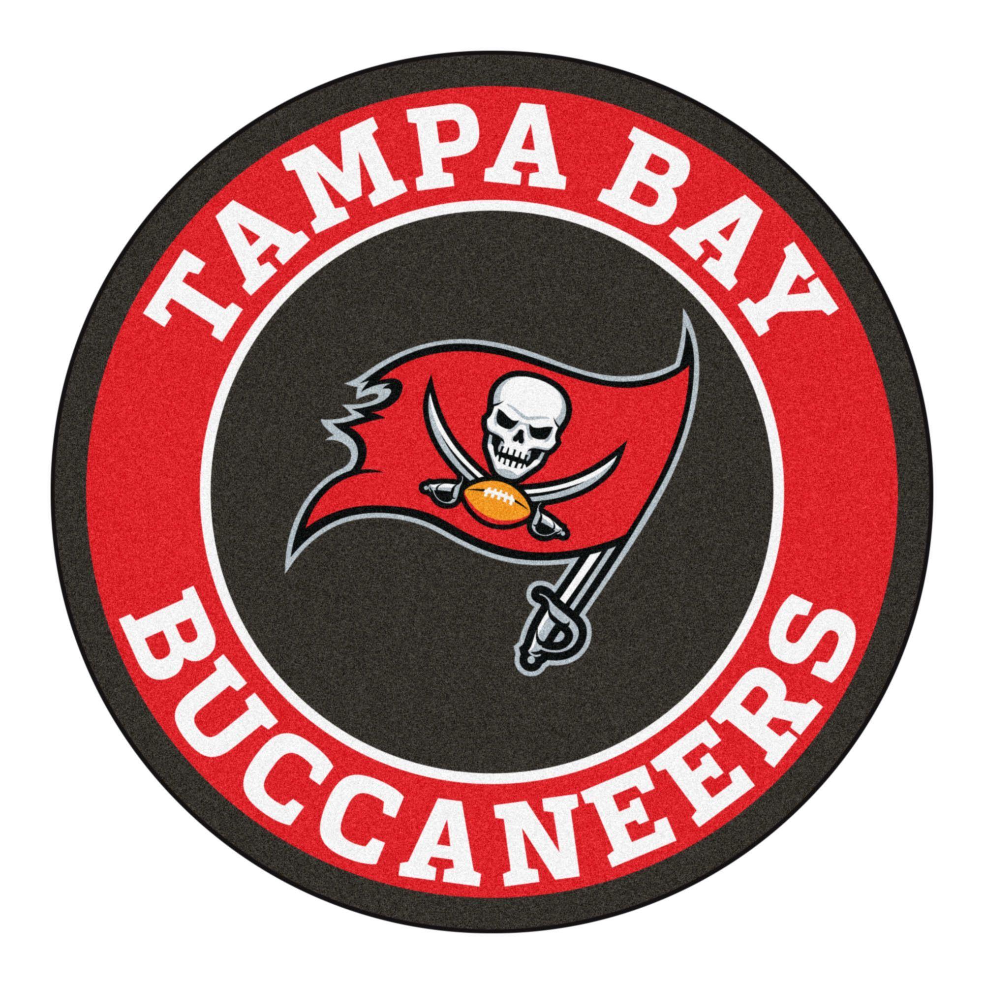 Sticker 5 sizes!! Tampa Bay Buccaneers Circle Logo Vinyl Decal
