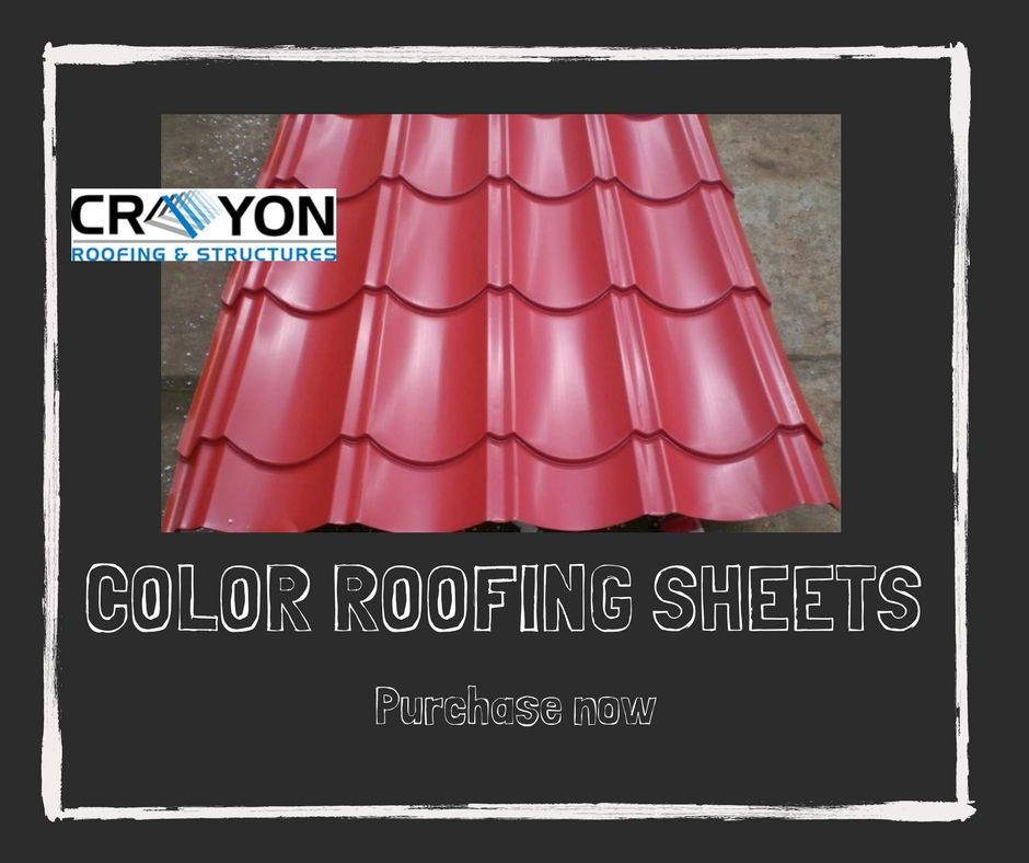 Crayon Roofings Structures Is The Best Color Roofing Sheet Manufacturers And Suppliers In Chennai We Provide Durable Metal Roof Sheet Metal Roofing Roofing