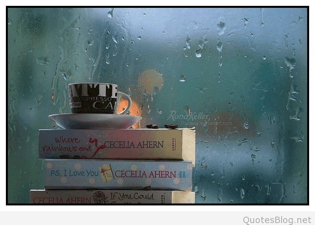 Curl Up In Front Of The Window Or Sit On The Covered Porch With A Cup Of  Tea And The Smell Of The Rain. Itu0027s Magic. I Also Love To Do ...