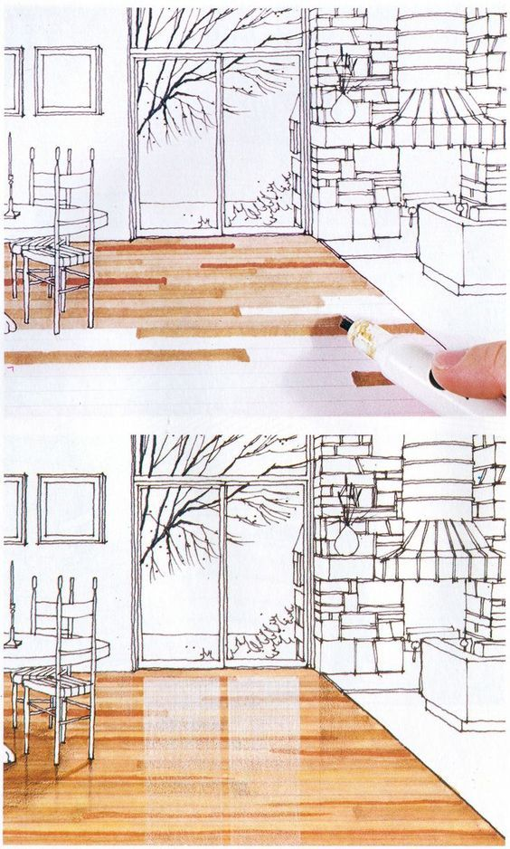 cool architecture drawing. Drawing With Markers Is Cool Old School. From Michael Doyle\u0027s Color Drawing, 1980: Architecture