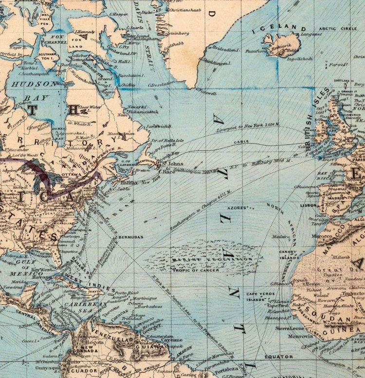 Vintage world map 1876 mercator projection gumiabroncs Images