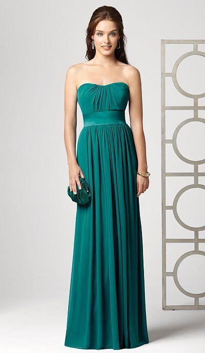 Strapless long dresses
