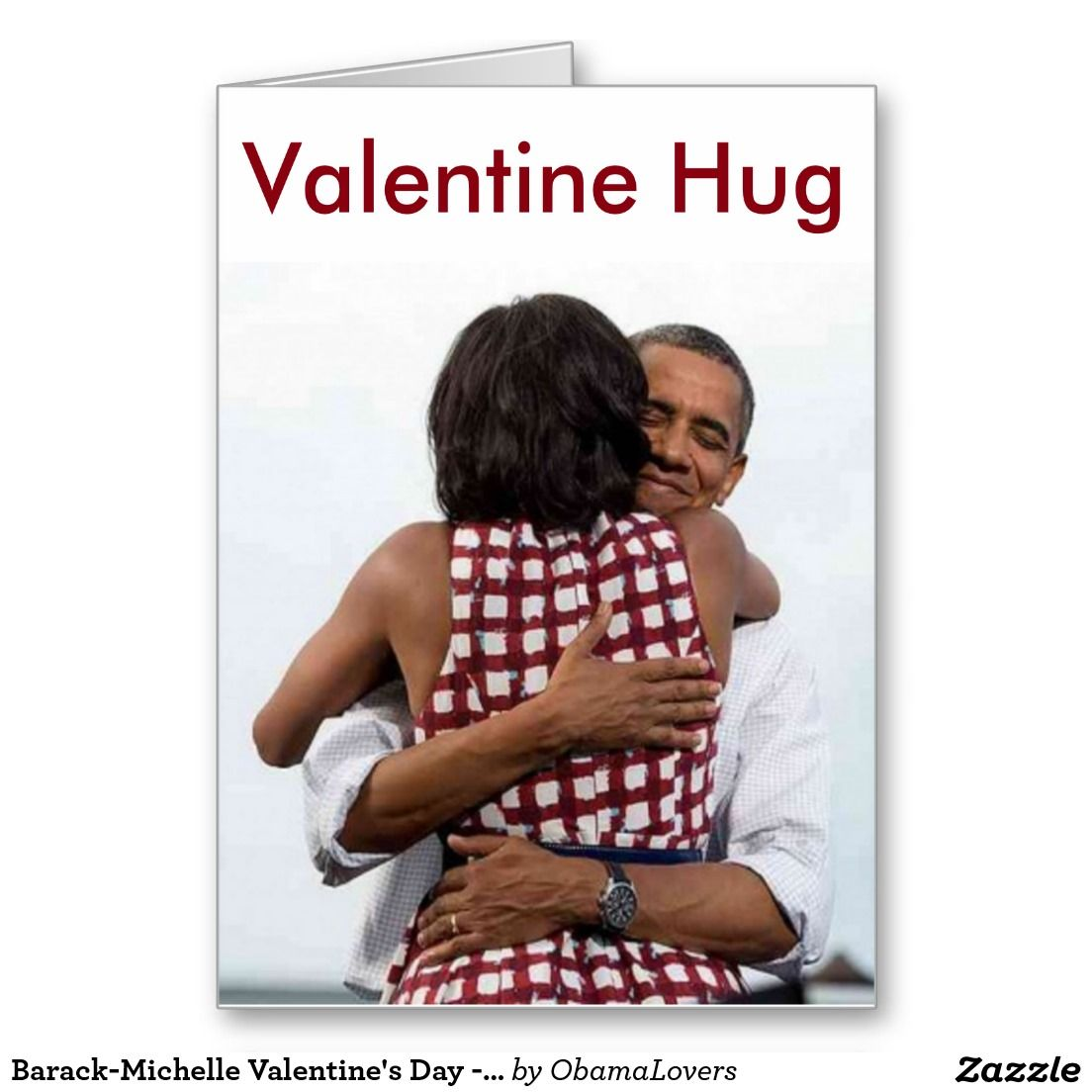 Barack michelle valentines day card obama greeting cardsnote racist man behind bars for threatening to behead obama kristyandbryce Choice Image